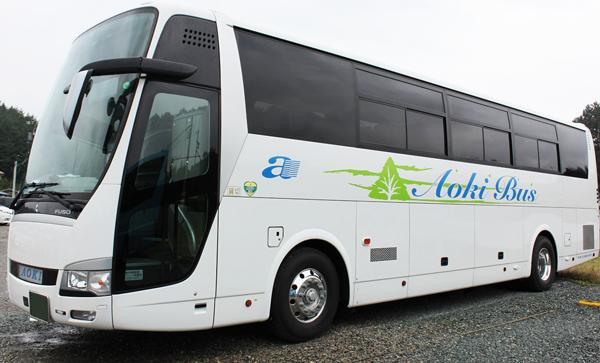 AB1004 あおぞらライナー 東京⇒シャープ多気・青木バス車庫 4列シート